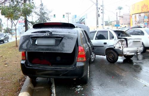 Reprodução EPTV - Caso aconteceu na manhã deste sábado em Campinas. Foto: Reprodução EPTV