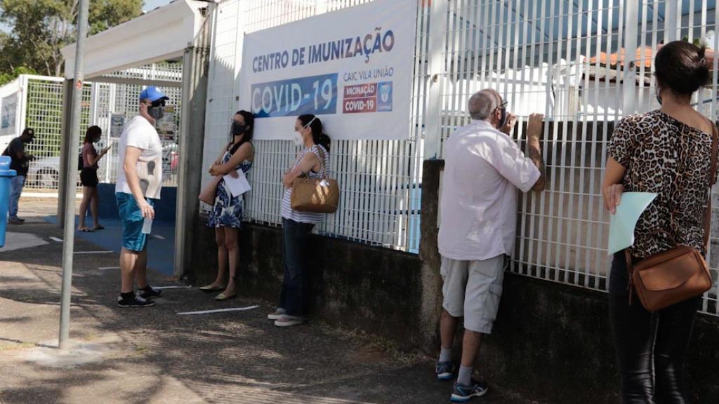 Caso ocorreu no Centro de Imunização da Vila União; imagem ilustrativa (Foto: Denny Cesare/Código19) - Foto: (Foto: Denny Cesare/Código19)