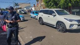 Adolescente é detido em Santa Bárbara após perseguição de Hillux furtada
