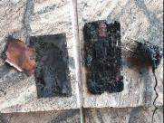Casa de idosos pega fogo após curto-circuito em celular
