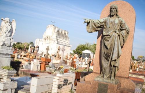 Crédito: Luciano Claudino/Código19 - Cemitério da Saudade. Crédito: Luciano Claudino/Código19