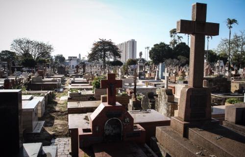 Cemitério da Saudade, em Campinas (Foto: Luciano Claudino/Código 19) - Foto: ACidade ON - Campinas