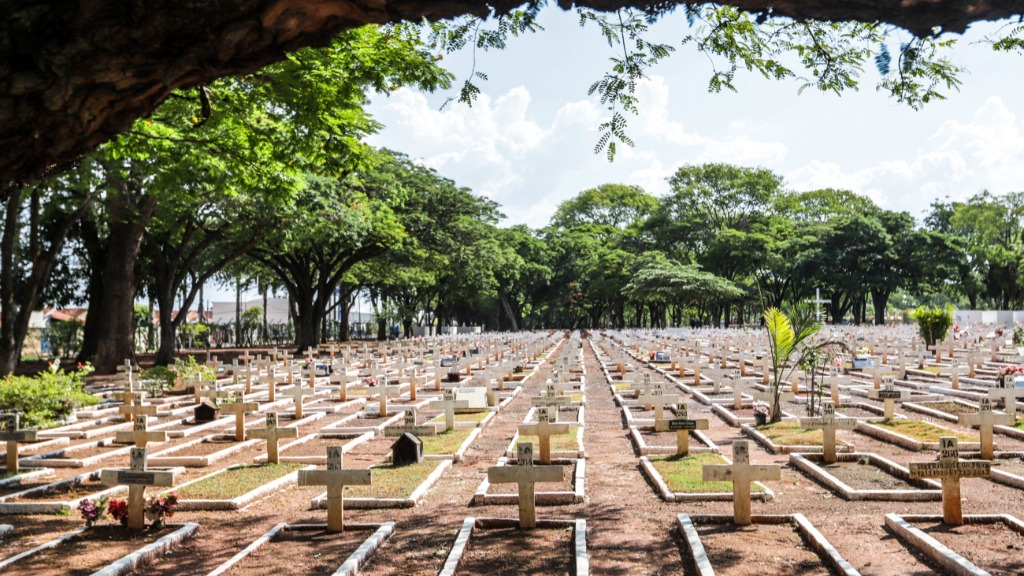 Cemitério das Cruzes cemitério dos Britos(Foto: Amanda Rocha) - Foto: Amanda Rocha