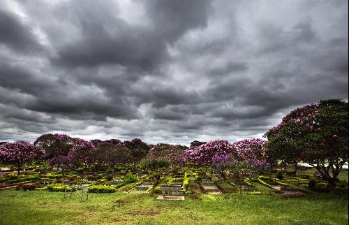 Bom Pastor: Burocracia impede a utilização de 5% dos 13 mil jazigos do cemitério da zona Leste de Ribeirão Preto (Foto: Weber Sian / A Cidade) - Foto: Weber Sian / A Cidade