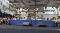 """Vereador do PSL """"puxa"""" coro contra Bolsonaro no Centro"""