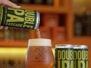 Cervejas artesanais também em latas