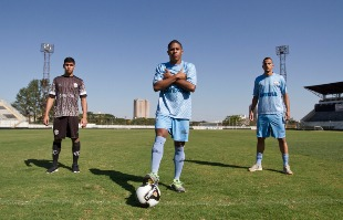 Weber Sian / A Cidade - César, Juninho e Mateus Totô representam a nova geração de jogadores do Comercial