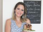 Livia Martins ensina a preparar um delicioso panetone para pessoas celíacas. - Foto: Matheus Urenha / A Cidade