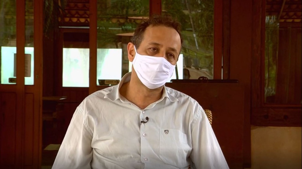Chico Loco é o candidato do PSB à Prefeitura de São Carlos. Foto: Reprodução/ ACidade ON São Carlos - Foto: ACidade ON - São Carlos
