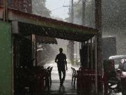 Final de semana começa com mais chuva em Ribeirão Preto