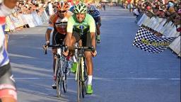 Ciclista de Ribeirão vai ao pódio em etapa do Giro del Sol