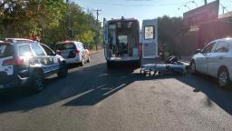 Ciclista é atropelado e arrastado por veículo em Matão