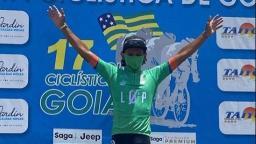 Ciclista de Ribeirão Preto vence 3ª etapa da Volta de Goiás