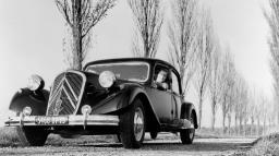 Citroën Traction Avant revolucionou a indústria automotiva