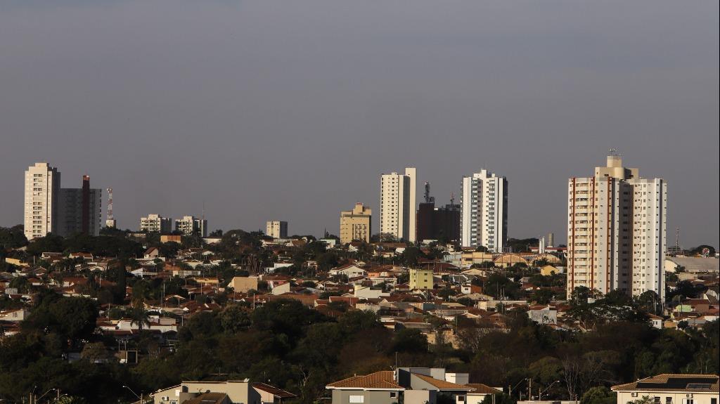 Clima tempo vista de Araraquara do Jardim Morumbi (Foto: Amanda Rocha) - Foto: Amanda Rocha