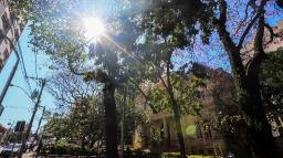 Semana começa com sol e clima ameno em Araraquara