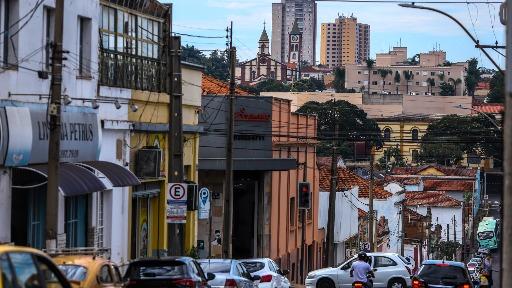 Clima tempo Araraquara centro comércio (Foto: Amanda Rocha) - Foto: Amanda Rocha
