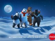 Urso polar da Coca-Cola ganha amigos.