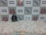 Jovem é preso com 9 mil cápsulas com cocaína e dinamite em Ribeirão
