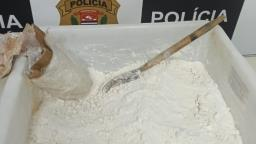 Polícia Civil apreende cocaína pura e prende 4 pessoas