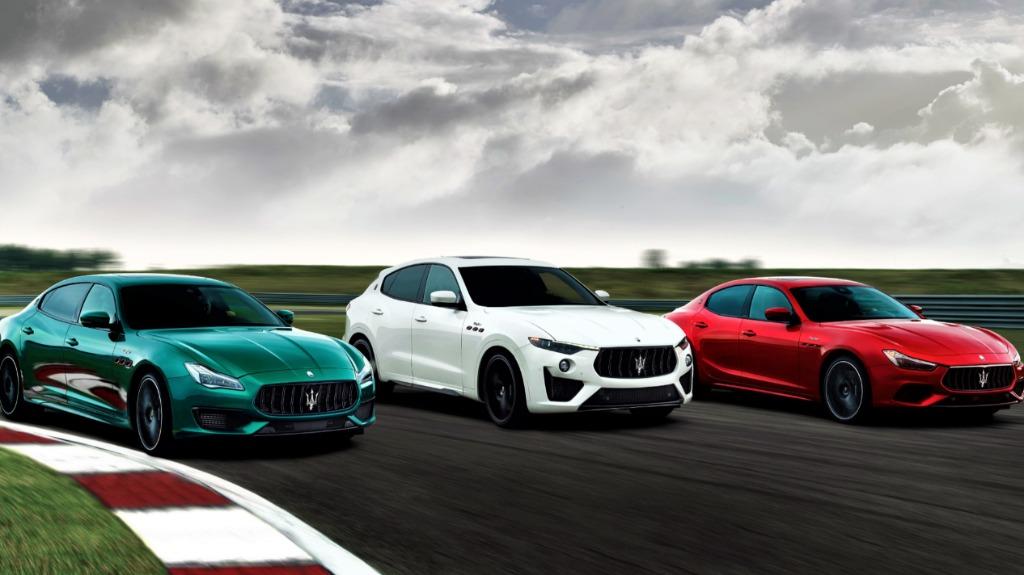 Coleção Maserati Trofeo: divulgação - Foto: Auto ON