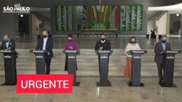 Assista: Governo Doria atualiza ações de combate à pandemia
