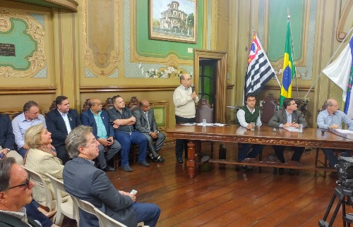 Marcelo Fontes - Prefeitura divulgou balanço da Fazenda e da Infraestrutura