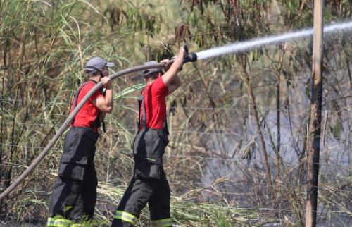 Foto: Código 19 - Com seca histórica o risco de incêndios é grande em Campinas. Foto: Código 19