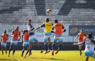F. L. Piton / A Cidade - Treino foi realizado antes de partida contra Rio Claro