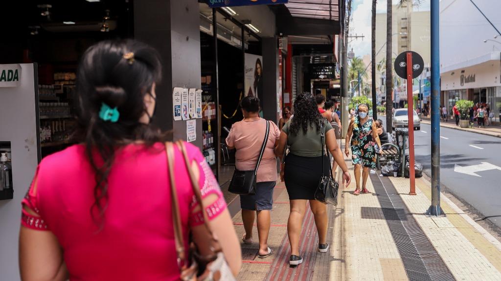 comércio economia centro Araraquara (Foto: Amanda Rocha) - Foto: Amanda Rocha