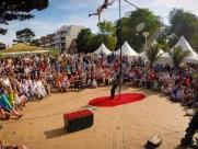 Espetáculo de circo Kinematos é atração no Sesc nesta quarta-feira (09)