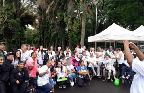 Concentração em Araraquara foi no Parque Infantil, no Centro. (Foto: Reprodução/Redes Sociais) - Foto: Reprodução Redes Sociais