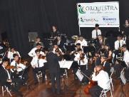 Orquestra dos Patrulheiros presta homenagem a Carlos Gomes