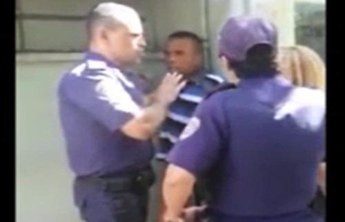 Guardas Municipais e pacientes se envolveram em confusão na UBDS Central de Ribeirão - Foto: Reprodução rede social