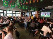Croácia foi a campeã da torcida em bar de Ribeirão Preto
