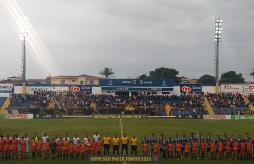 ACidade ON - São Carlos - São Carlos foi eliminado da Copa São Paulo de 2018 (foto: Luã Viegas/ ACidade ON)