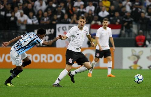 Corinthians enfrentou o Grêmio neste sábado (18)  (Foto: Peter Leone/futura Press/Futura Press/Folhapress) - Foto: (Foto: Peter Leone/futura Press/Futura Press/Folhapress)