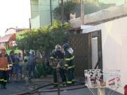 Casa pega fogo na zona Norte de Ribeirão Preto