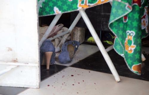 Corpo da vítima estava em bar; seu coração foi encontrado na casa do assassino (Foto: Denny Cesare/Código 19) - Foto: Denny Cesare