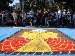 Corpus Christi reuniu cerca de 60 mil pessoas em Matão (Amanda Rocha/ACidadeON) - Foto: Amanda Rocha