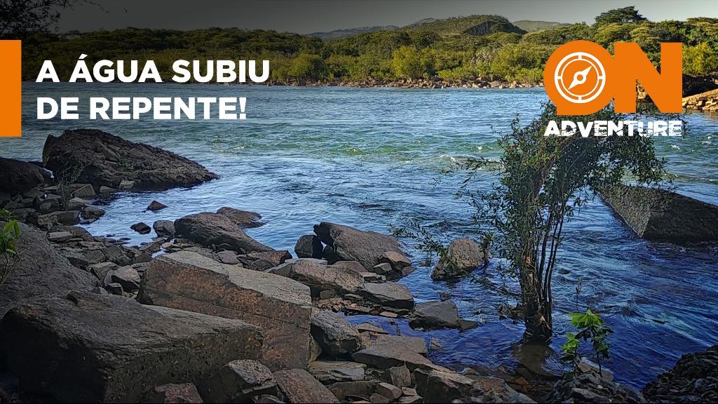 Local perigoso: O nível da água pode subir subitamente em canais de escoamento de usinas hidrelétricas. - Foto: Sanner Moraes