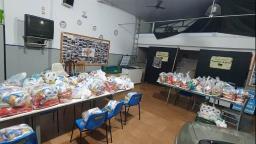 Ribeirão: Projeto doa cestas básicas para famílias carentes