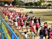 """Domingo tem """"Caminhada Laço Rosa"""" na Lagoa e Arautos"""