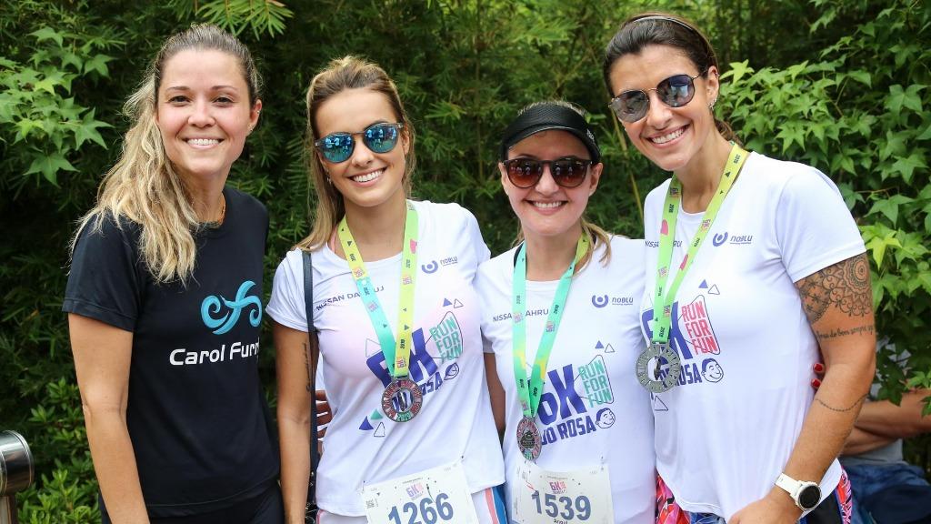 Graziele Silveira, Angela Ferreira, Livia Guizzo e Marcela Contardi - Foto: Guilherme Gongra