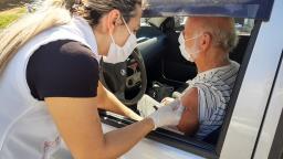 Covid-19: Holambra vacina pessoas a partir de 63 anos amanhã