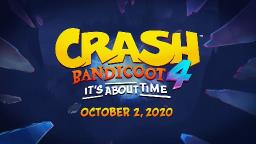 Novo Crash Bandicoot 4: Its About Time é anunciado