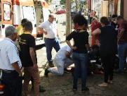 Criança fica ferida após acidente de trânsito em São Carlos