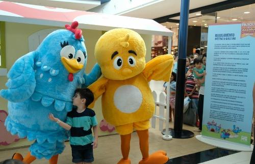 Divulgação - Crianças podem até tirar fotos com os personagens (Foto: Divulgação)