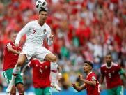 Portugal vence com gol de CR7 e elimina Marrocos da Copa