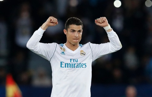 Hassan Ammar / Associated Press / Estadão Conteúdo - Cristiano Ronaldo comemora gol que deu caneco ao Real Madrid